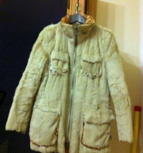 Меховая демисезонная куртка