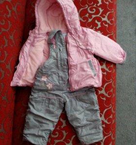 Куртка и полукомбенизон.