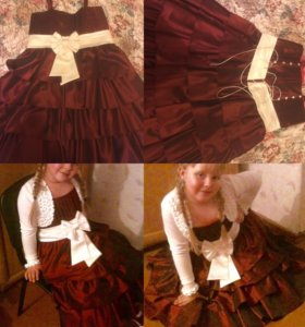 Платье нарядное для девочки 9-11 лет