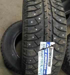Резина Bridgestone 275- 65 r 17 ,шип.