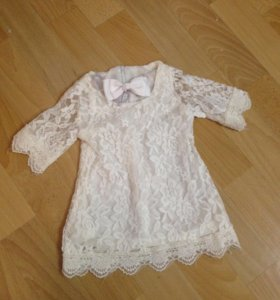 Новое кружевное платье на малышку