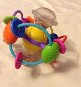 Игрушка-погремушка шар