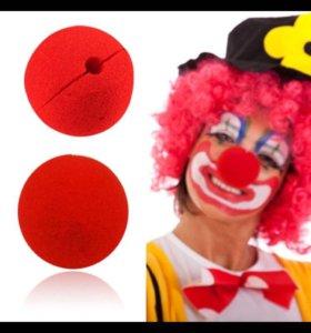 Красные носики . Носики клоуна