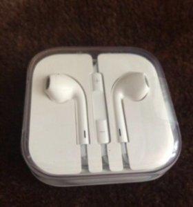 Наушники Ear Pods от Iphone 5 s