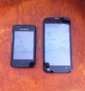 2 смартфона, на запчасти.