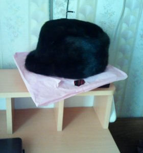 норковая мужская кепка р 60