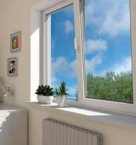 Окна, балконы, перегородки