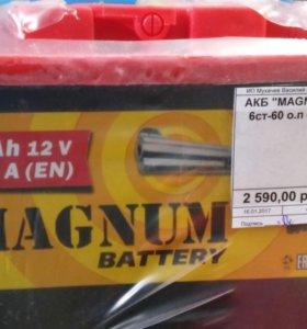 Аккумулятор MAGNUM 55-62