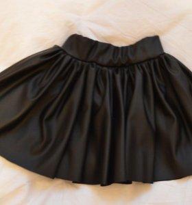 ЭКО кожа юбка