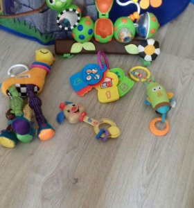 Развивающие игрушки пакетом и по отдельности
