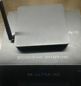 4KUltra HD Смарт тв медиаплеер rombica Infinity K8