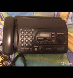 Телефон-факс Panasonic KX-FT37 с автоответчиком