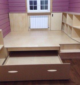 Сборка и установка мебели изготовления на заказ