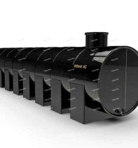 Емкость горизонтальная для топлива  ВолТанк 1,5