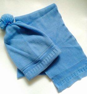 Великолепный зимний комплект (шапка и шарф)