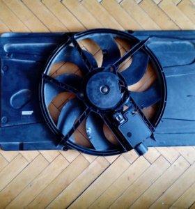 Вентилятор радиатора ford focus2,c-max