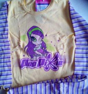 Пижама для девочки ПопПикси новая