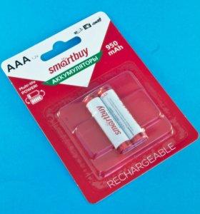 Аккумулятор NiMH AAA R3 1,2V 950mAh SmartBuy, 2 шт