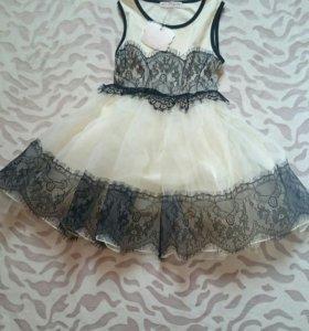Новое. Детское платье на девочку 4-5 лет.
