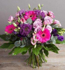 Доставка цветов, букетов