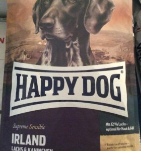 Корм для собак Happy Dog ирландия 12,5кг