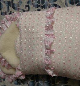 Зимний конверт с одеялом