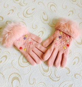 Перчатки новые тёпленькие