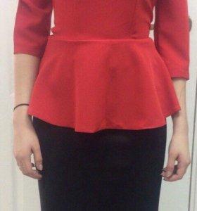 Блузки юбка