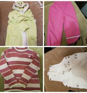 Пакет вещей на девочку р134 +