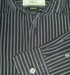 Приталенная мужская рубашка Springfield 44-46