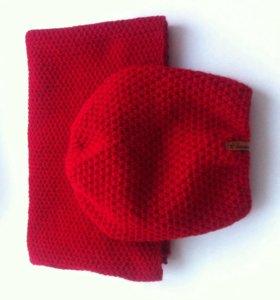 Комплект шапка+шарф в ассортименте