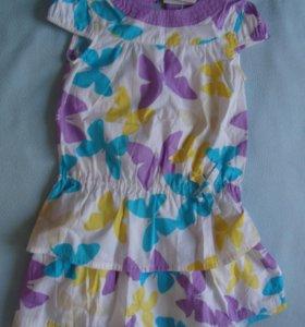 Комплект новый блузка и юбка