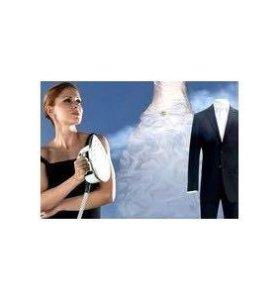 Отпаривание свадебного платья и костюма