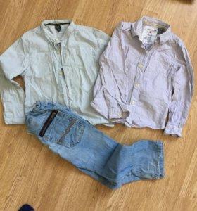 Комплект одежды Zara на мальчика 4-5 лет