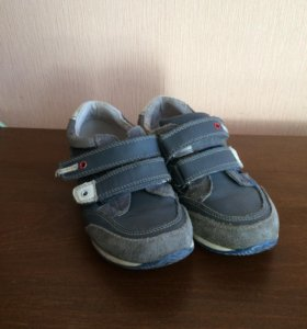Весенние ботинки на мальчика