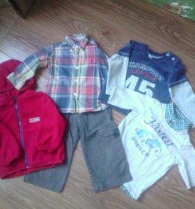 Вещи для мальчика 1-2 года