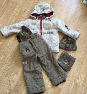 Комплект зимней одежды на мальчика рост 110