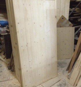 Двери для Бань, банные двери на клин, Столярка.
