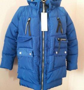 Новая теплая куртка парка
