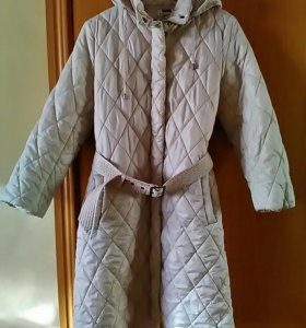 Женское балоневое пальто