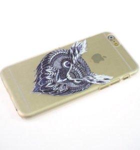 """Чехол на Iphone 6 """"Сова"""""""