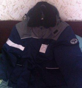 Куртка и ватники