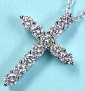 Крестик в стиле Tiffany