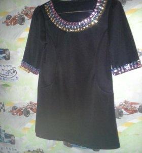Платье туника.Размер 42-44