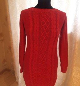 Платье трикотажное 44