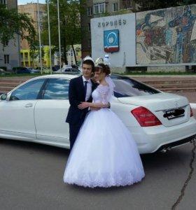 Аренда мерседеса s 221 AMG на свадьбу