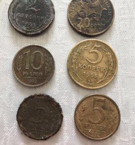 Старинные Деньги и Монеты.