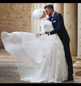 Свадебное платье для никах