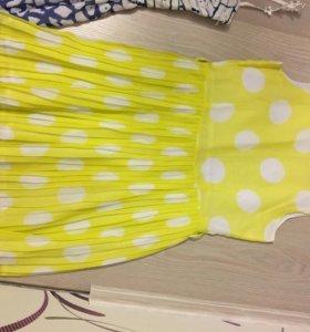 Нарядное платье на девочку 146-152