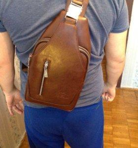 Мужской рюкзак( сумка через плечо)